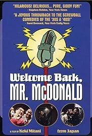 Bienvenido de nuevo, Sr. McDonald
