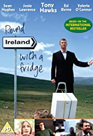 Irlanda redonda con una nevera