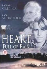Corazón por completo de lluvia