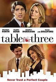 Mesa para tres