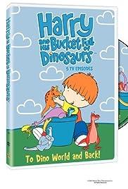 Harry y su cubo lleno de dinosaurios