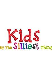Los niños dicen las cosas más tontas